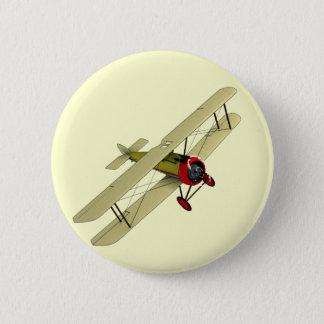 Sopwith Camel Biplane Button
