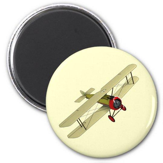 Sopwith Camel Biplane Magnet