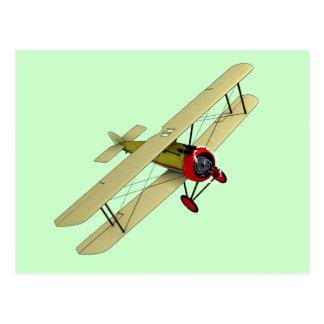 Sopwith Camel Biplane Post Card