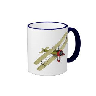 Sopwith Camel Biplane Ringer Mug