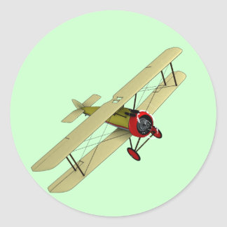 Sopwith Camel Biplane Stickers