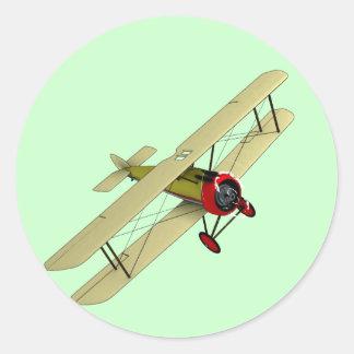 Sopwith Camel Biplane Sticker