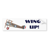 Sopwith Camel Bumper Sticker