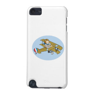 Sopwith Camel Scout Airplane Cartoon iPod Touch (5th Generation) Cover