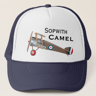 Sopwith Camel Trucker Hat