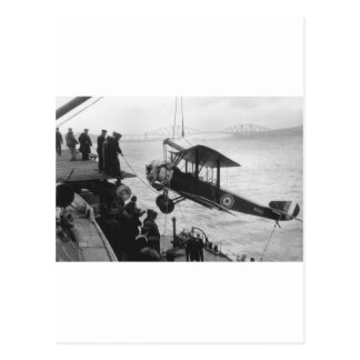 sopwith in the drink postcard