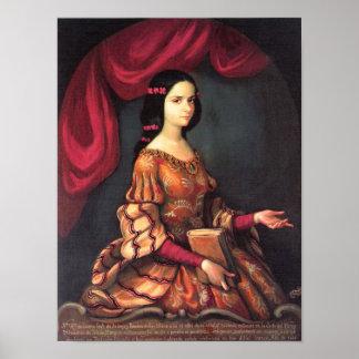 Sor Juana a los 15 años J Sánchez Fine Art Poster