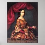 Sor Juana una bella arte de J. Sánchez de los años Póster
