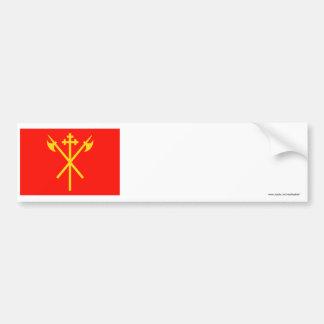 Sør-Trøndelag flag Bumper Stickers