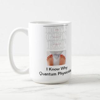 ¡Sorba su café en estilo del físico de Quantum! Taza