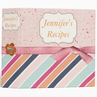 Sorbet and Sprinkles Recipe Binder