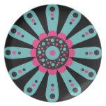 Sorbet Floral - Modern Flower Plate