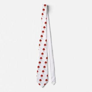Sorbete de la cereza corbatas personalizadas