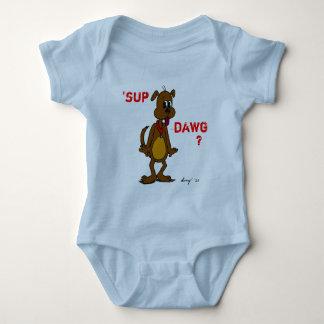 ¿'SORBO DAWG? Enredadera del niño del perrito Body Para Bebé