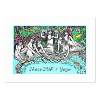 SORBO y yoga de la orilla Plantilla De Tarjeta De Negocio