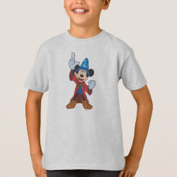 Kids' Hanes TAGLESS® T-Shirt with Disney Fantasia's Mickey Mouse Sorcerer's Apprentice design