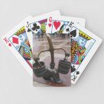 Sorcerer's apprentice bicycle card decks