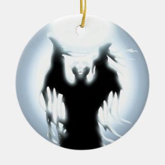 Sorcerer's Design Ceramic Ornament
