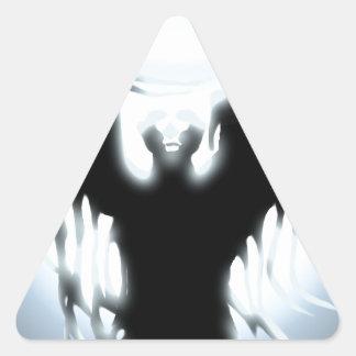 Sorcerer's Design Triangle Sticker