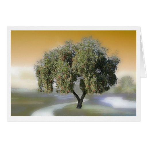 Sorcerer's Tree Card