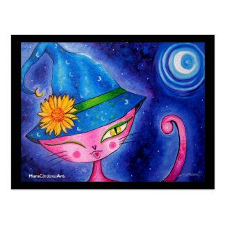 Sorceress Kitty Postcard