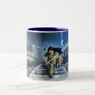 Sorceress of the Himalayas Two-Tone Coffee Mug
