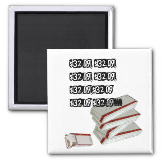 sordid lives 2 inch square magnet