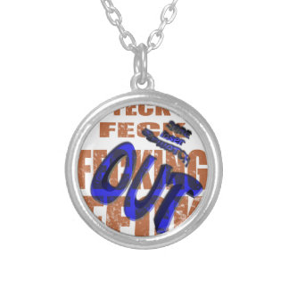 sore loser so watch out round pendant necklace