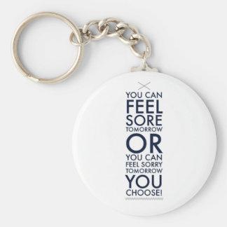 Sore or sorry key chain