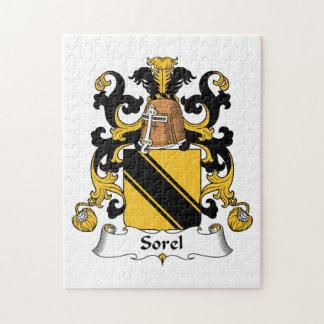 Sorel Family Crest Puzzle