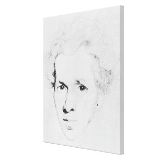Soren Aabye Kierkegaard Canvas Print