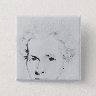 Soren Aabye Kierkegaard Pinback Button