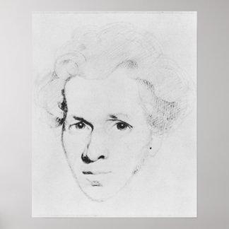 Soren Aabye Kierkegaard Poster