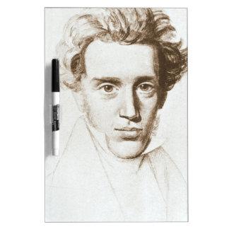 Søren Kierkegaard - filósofo existencialista Pizarra