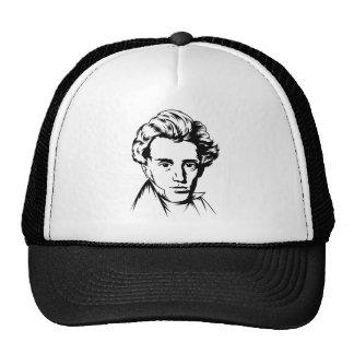 Soren Kierkegaard philosophy existentialist portra Trucker Hat