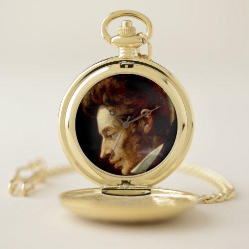 Soren Kierkegaard Philosophy Graduation Pocket Watch