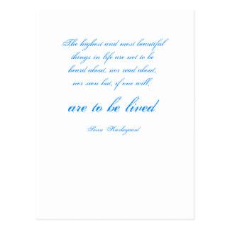 Soren Kierkegaard Postcard