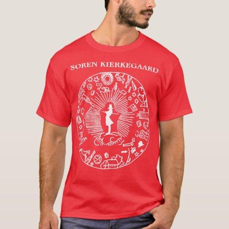 """SOREN KIERKEGAARD VS. THE WORLD"" T-Shirt"