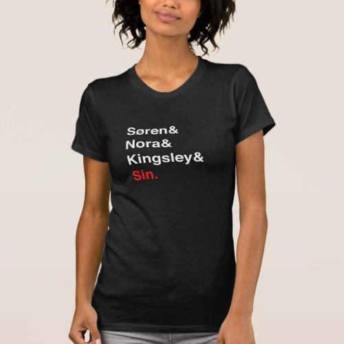 Sren  Nora  Kingsley  Sin Shirt