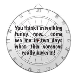 SORENESS - Wait Until You See Me In 2 Days Dart Board