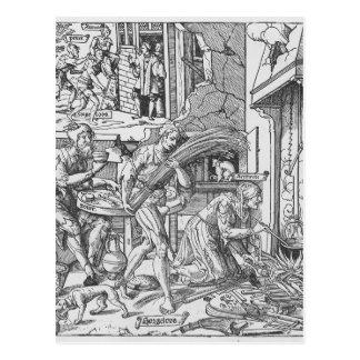 Sorgheloos que lleva una gavilla, 1541 tarjetas postales