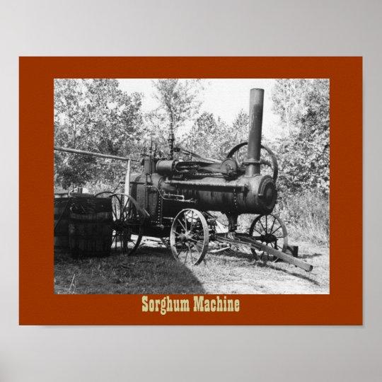 Sorghum Machine Poster