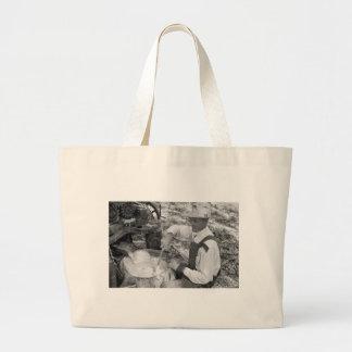 Sorghum Stir Pot, 1930s Jumbo Tote Bag