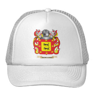 Soriano Coat of Arms (Family Crest) Trucker Hats