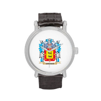 Soriano Coat of Arms - Family Crest Wrist Watches