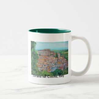 Soriano nel Cimino, Italy - Mug