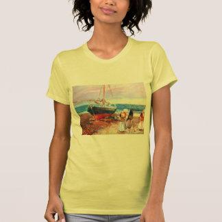 Sorolla-Fisherwomen de Joaquín en la playa, Valenc Camisas