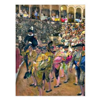 Sorolla - The Bullfighter Postcard