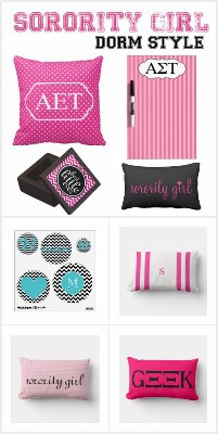 Sorority Girl Dorm Style