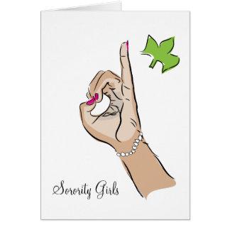 Sorority Girls Card